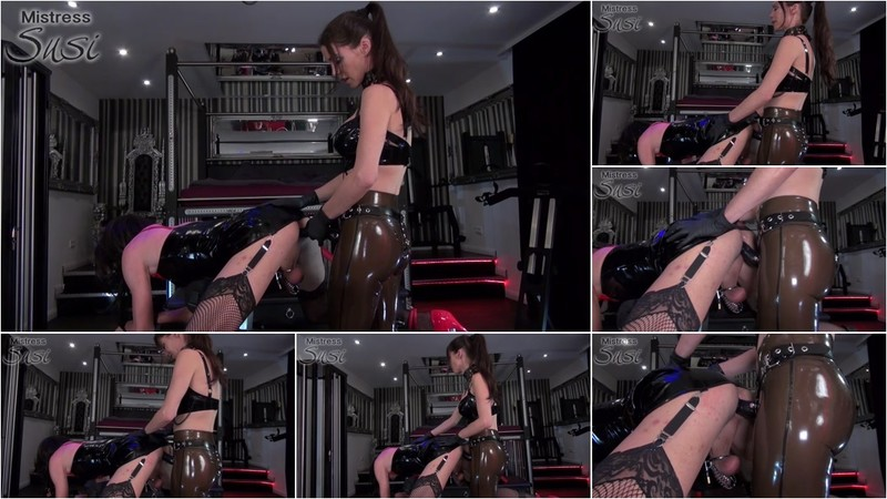Mistress Susi - Sissy fucking strapped to the fuckbench - Watch XXX Online [FullHD 1080P]