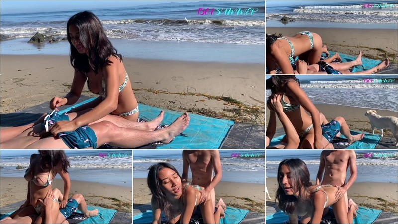 ISLA SUMMER - Beach Quickie So We Don't Get Caught [FullHD 1080P]