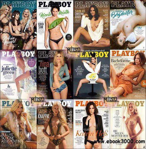 Playboy Germany 2017 Complete Cover