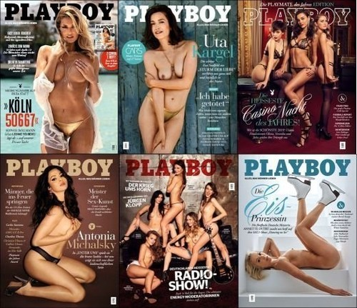 Playboy Germany 2019 Complete Cover