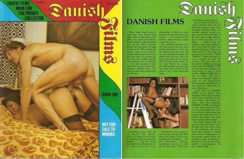 Danish Films - Book One (1970s) JPG