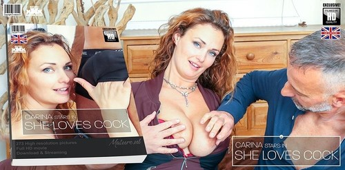 """Carina in """"Hairy Red Milf Carina Has A Very Special Love For Hard Cocks"""" [SD]"""