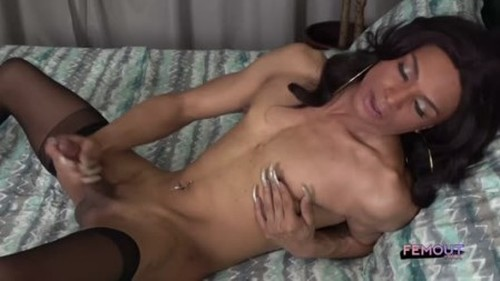 Femout.xxx - Shakira Lariah Strokes It 29 November 2019 - Trans, Shemale Porn Video