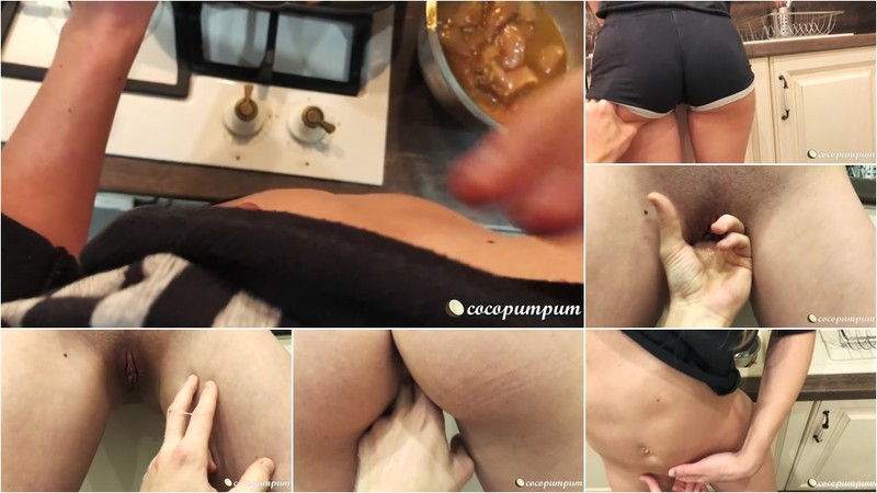 Cocopumpum - Fingering my Perfect Fit Teen Girlfriend till she Squirts [FullHD 1080P]