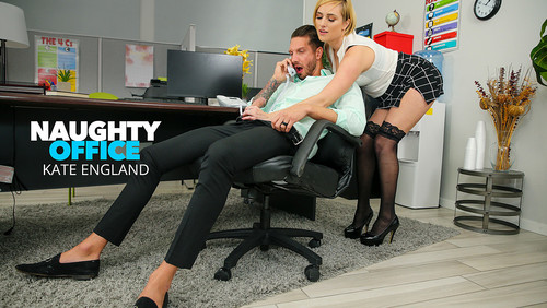 Kate England - Kate England Fucks At The Office [SD/400p]