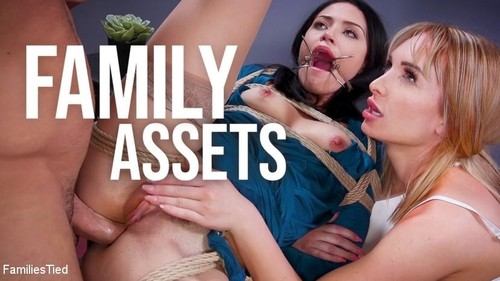 Family Assets Cold Hearted Step-Sister Warms Up To Her Brothers Cock [SD]