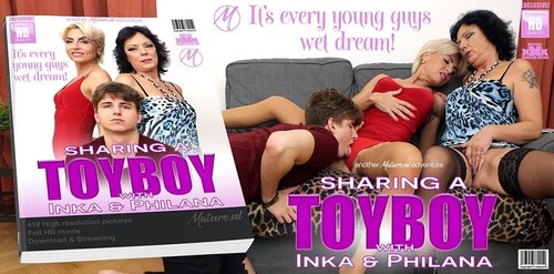 Two Mature Sluts Share One Horny Toyboy [FullHD]