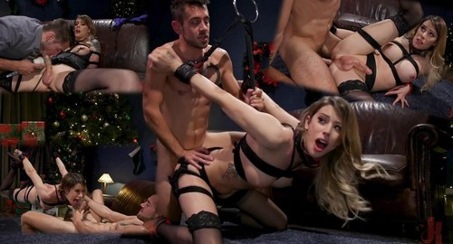 Casey Kisses - Best Christmas Ever Gorgeous Casey Kisses Submits To Dante Colle [HD]