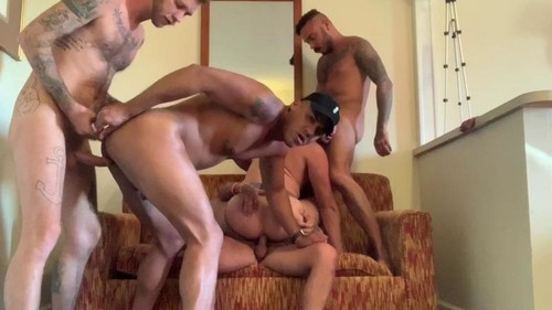 RawFuckClub - Five Man GangBang!!!!: Owen Powers, Seth Knight, Cris Knight, Ryan Powers, Dave Aus...