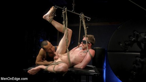 MenOnEdge - Alex Killian: Tied and Edge