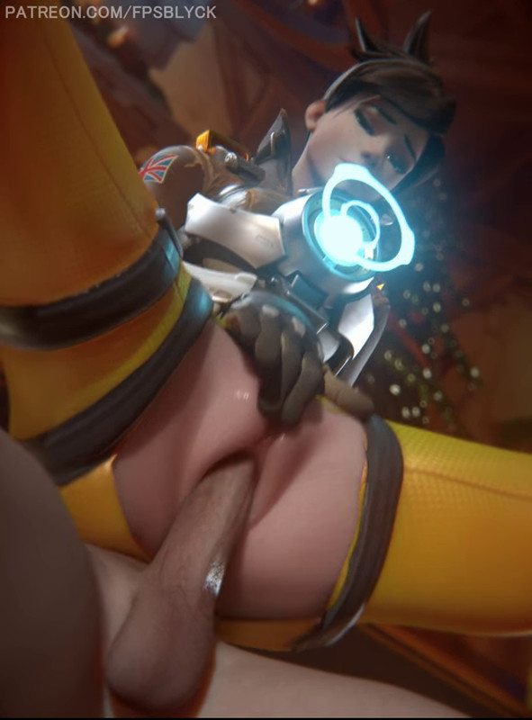Tracer Early Christmas Pussy - FPSblyck - Overwatch Hentai 21