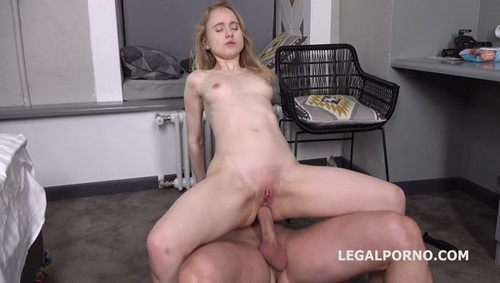 Mr. Anderson Anal Casting, Light Fairy first time anal with rough action, Gapes and Cum in mouth GL105 sd