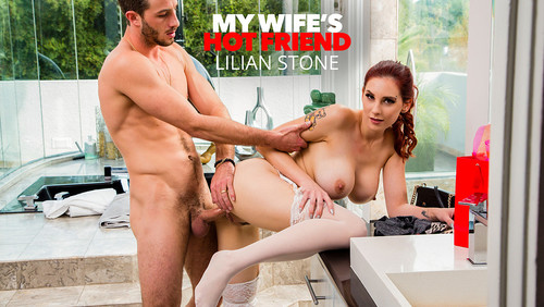 Lilian Stone - Lilian Stone Tries On Her Friends Lingerie And Gets Caught By The Husband (2020/SD)