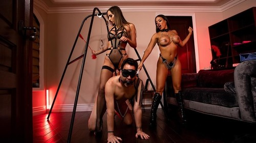 Desiree Dulce, Luna Star - The Dommes Next Door Double Dommed (2019/HD)
