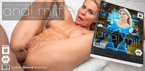 Nadya Basinger - Milf Nadya Basinger Loves Getting An Anal Creampie (2020/HD)