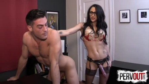 Office Strap On Punishment With Cleo - Worship, Mistress, Femdom Porn
