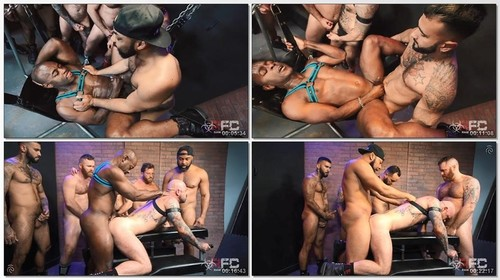 Rikk York, Ray Diesel, Rogue Status, Zack Acland, Riley Mitchel, Ffurrystud, Aaron Trainer - Pig Week Orgy 2019, Part 2  R486 (2019/HD)