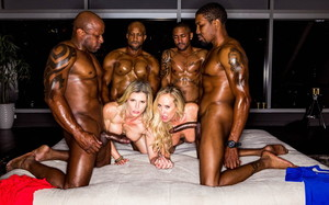 (Blacked Raw) - BBC Club - Cory Chase, Brandi Love, Big Tre, Dillion Cox, Isiah Maxwell & Prince Yahshua [12-01-2020]