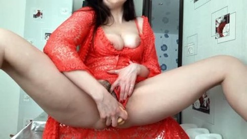 ScatLina - Xtreme Enormous Scat Swallow Without Camera