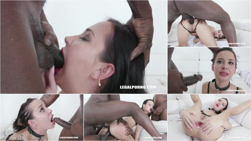 Freya Dee takes black cocks only in the ass and drinks african champagne IV445 [HD 720P]