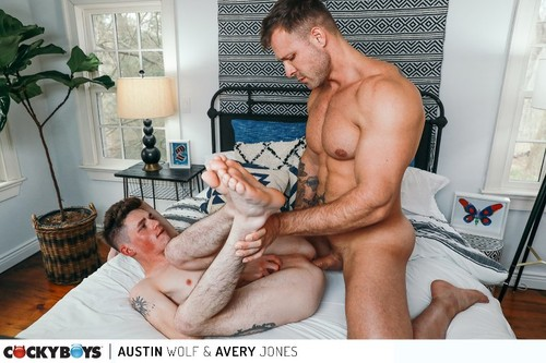 CockyBoys - Austin Wolf & Avery Jones Bareback