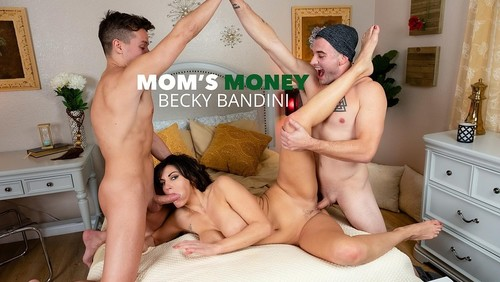Becky Bandini - Milf Becky Bandini Gets Tag Teamed By College Boys (SD)