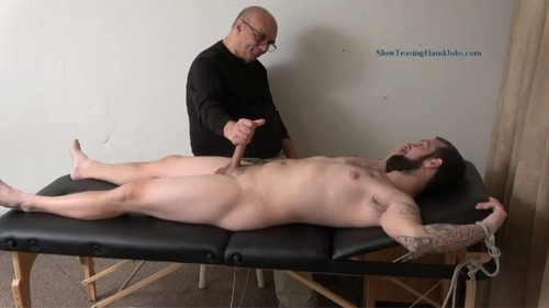 SlowTeasingHandJobs - Dad Stroked to Two Loads