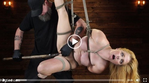 "Penny Pax in ""Blue-Eyed Redhead Damsel Tormented In Strict Bondage"" [HD]"