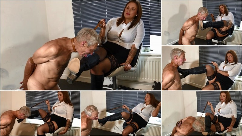 Arm Strapped Bootlicker - Watch XXX Online [FullHD 1080P]
