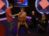 Maxim, TNA, and Playboy's Leticia Cline Rides the Sybian Nude on Howard Stern Show!