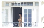 Rihanna Goes Nude in front of a Window