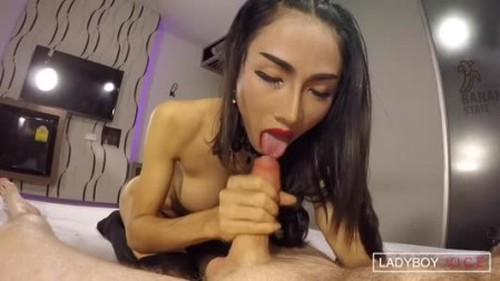 Enjoy - Topping And Creampie - Shemale, Ladyboy Porn Video