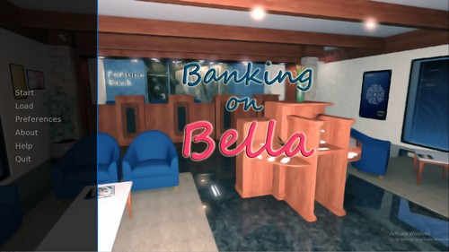 Banking on Bella - Version 0.2b + Incest Patch by Profile Game Studios Win/Mac/Android