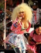 Nicki Minaj Nipple Slip on Good Morning America