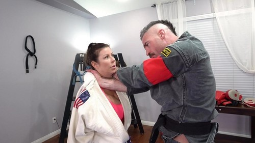 "Amateurs in ""Alexis Fawx Learns Some New Martial Arts Tricks While Sucking Dick"" [FullHD]"