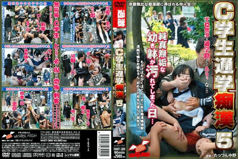 NHDT-389 C学生通学痴漢 5
