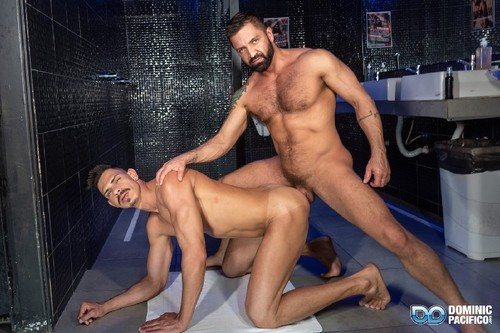 DominicPacifico - Gustavo's Bare Booty Grind: Dominic Pacifico, Gustavo Mueller Bareback
