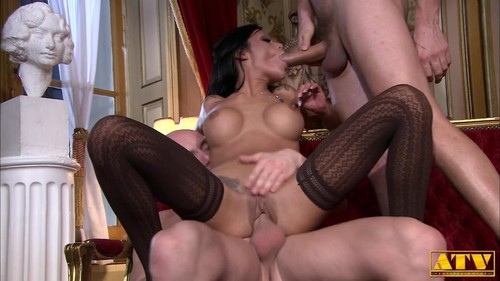 Elena Grimaldi - Without Restraint With Two Cocks