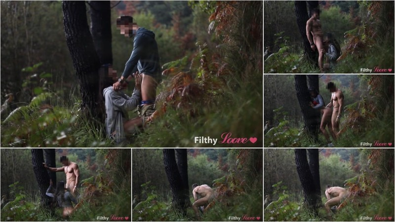 Filthyloove - Voyeur SEX in the Forest and RAIN. [FullHD 1080P]