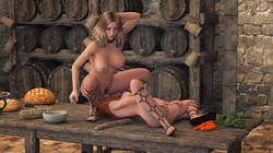VIPStranger - Sexy Witch 5 - Down the Black Hole Version 1.0 CG Pack
