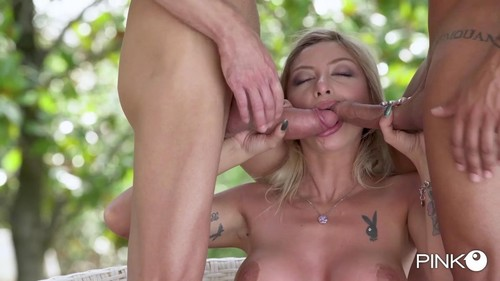 And Two Friends With A Hard Cock [SD]