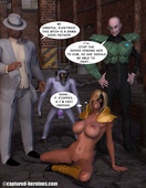Captured-Heroines - Thunderbolt - Thug Team Up