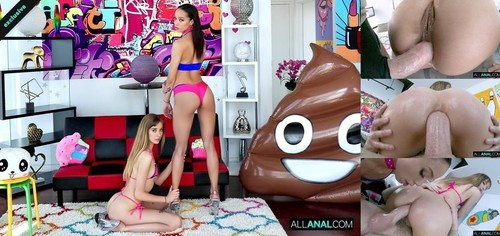 Haley Reed, Alexis Tae - Sharing Is Caring With Alexis And Haley [HD/720p]
