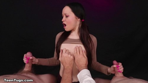 Rosie Riches - Double Fisted Braced Faced Teen Rosie [FullHD/1080p]