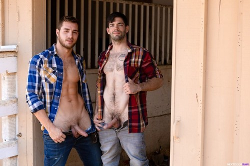 NextDoorRaw - Hay Bros: Carter Woods, Julian Brady Bareback