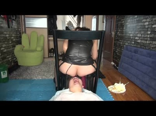 Jing Queen feed her slave dog - Femdom Scat, Scat Domination, Toilet Slavery