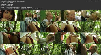 Lola Reve - My friend Lola Reve fucked in the ass by a stranger in forest, 1080p