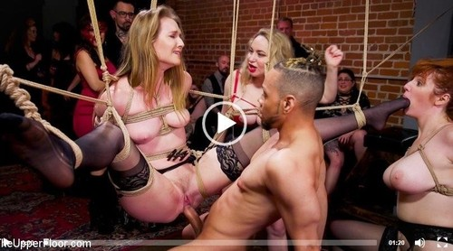 Aiden Starr, Maestro Stefanos, Donny Sins, Ashley Lane, Lauren Phillips - Babe Bdsm Swinger Becomes Sexual Submissive For The House [SD/540p]