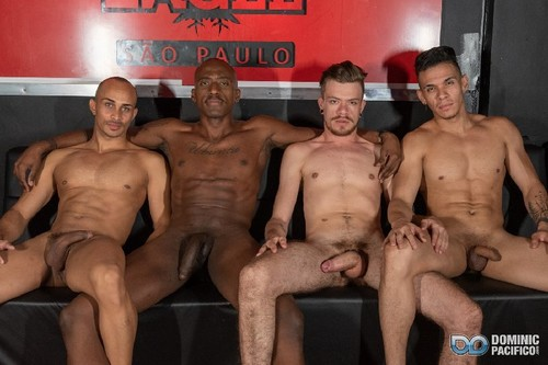 DominicPacifico - Orgy at the Sao Paulo Eagle: Henri Mase, Kaliu, Lucas Felippe and Alex Ronald B...