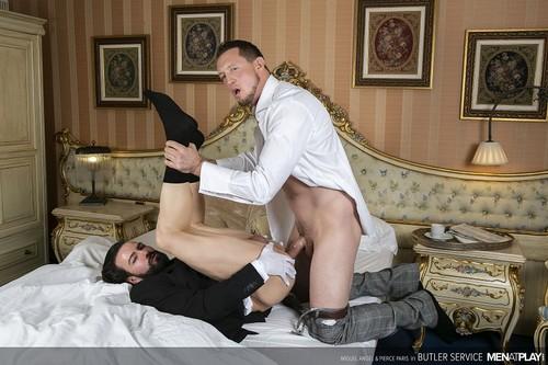 MenAtPlay - Butler Service: Miguel Angel, Pierce Paris